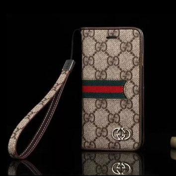 Gucci Fashion Print iPhone Phone Cover Case For iphone 6 6s 6plus 6s-plus 7 7plus Tagre™