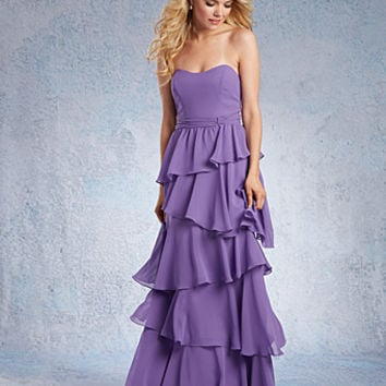 Alfred Angelo Layered Bridesmaid Dress 7321L