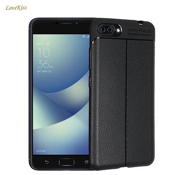 Luxury Ultra Thin Leather Case For ASUS Zenfone 4 Max ZC554KL 4 Max Pro Plus 4Max Soft Litchi Skin TPU Back Cover