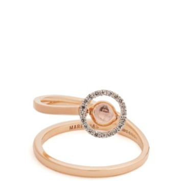 Diamond, amethyst, topaz & pink-gold ring | Marie Mas | MATCHESFASHION.COM US