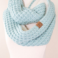 CC Chunky Knit Infinity Scarf - Multiple Options