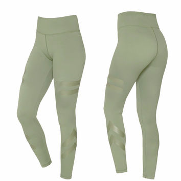 W-Yunna Solid Four-pin Six-wire Crafts Leggings Spandex Polyester High Quality Workout Leggings Women Stretchy Push up Leggins