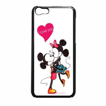Mickey And Minnie Mouse Kissing Iphone 5C Case