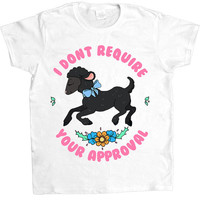 Black Sheep Doesn't Require Your Approval -- Women's T-Shirt