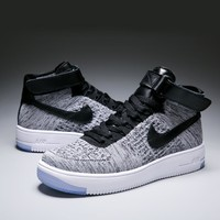 Nike Air Force 1 Grey/Black