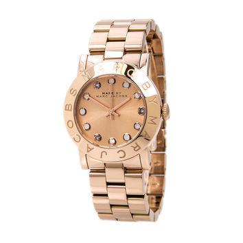 Marc by Marc Jacobs MBM3216 Women's Amy Dexter Rose Gold Steel Glitz Watch
