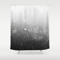 Wet Shower Curtain by Cafelab