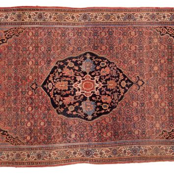 5x7.5 Antique Bijar Carpet