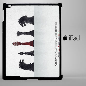 Game Of Thrones chest iPad 2, iPad 3, iPad 4, iPad Mini and iPad Air Cases - iPad