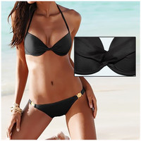 Sexy Womens Push Up Padded Bra Swimsuit Beach Bathing Suit Swimwear Bikini Set