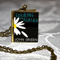 Looking for Alaska Book Locket
