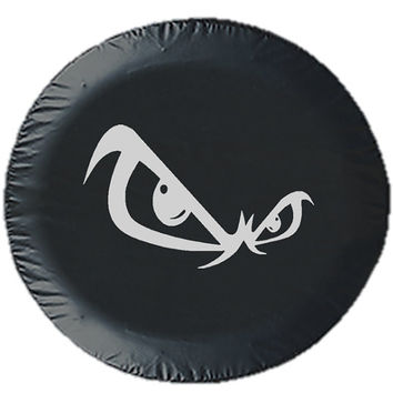 Angry Eyes Tire Cover