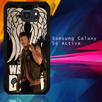 The Walking Dead Daryl Dixon Wings Z2791 Samsung Galaxy S6 Active  Case