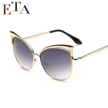 2016 New Metal Frame Dita Sexy  Sunglasses for Women Coating Brand vintage sun glasses female oculos de grau femininos