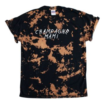 Champagne Mami Bleached Shirt