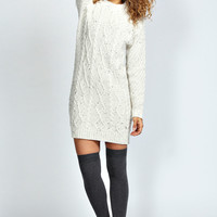 Stephanie Cable Knit Jumper