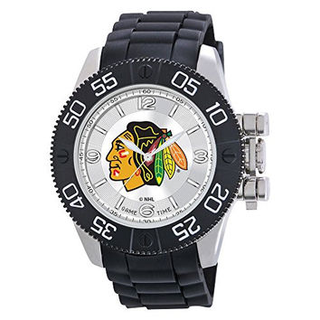 Mens Nhl Chicago Blackhawks Beast Watch, Best Quality Free Gift Box Satisfaction Guaranteed