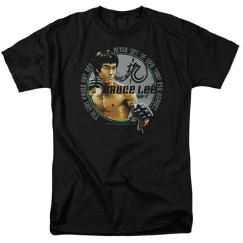 BRUCE LEE EXPECTATIONS LICENSED TEE AND HOODIE