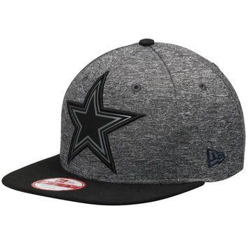 Men's Dallas Cowboys New Era Grey/Black NFL Grey Collection Original Fit 9FIFTY Adjustable Hat