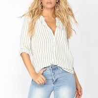 Serious Ways Blouse - Ivory