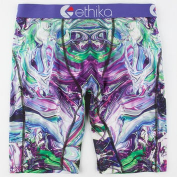 Ethika City Melt The Staple Boxers Purple  In Sizes