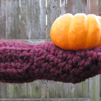 Fingerless gloves, chunky crochet fingerless gloves