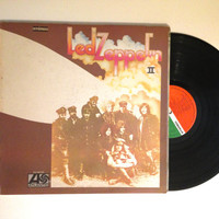 OCTOBER SALE Led Zeppelin Led Zeppelin II Vinyl Record 1969 Whole Lotta Love Lp Album Moby Dick