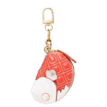 Tory Burch Drew Fish Key Fob