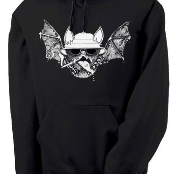 Hunter S. Thompson Fear and Loathing in Bat Country Hooded Sweatshirt