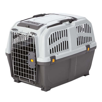 "Midwest Skudo Pet Travel Carrier Gray 26.75"" x 18.75"" x 20.125"""