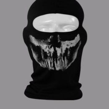 New Ghost Skull Mask Skeleton Hats Tactical Airsoft Paintball Cosplay Costume Army Balaclava Bicycle Halloween Full Face Masks