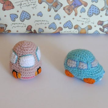Crochet car set of 2