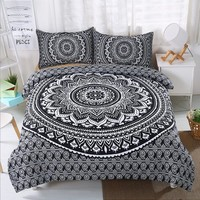 Famous wind Twin full queen king Bohemia 3pcs Bedding Set Bedclothes Duvet Cover Pillowcase Bedding Sets Bed Linen Home Textiles