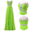 Beaded Corset Long Prom Dresses Homecoming Gowns Evening Party Plus Size Dress
