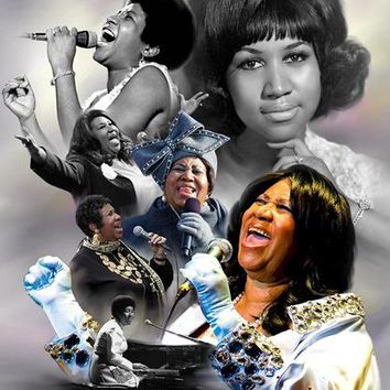 Aretha Franklin: The Queen of Soul Wishum Gregory Art Print