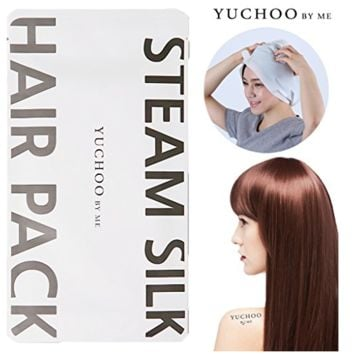 [YUCHOO BY ME] Nutrition Keratin Steam Silk Hair Pack 35ml / Wrap Hair Cap Mask