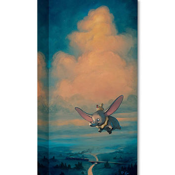 Dumbo Joy of Flight Limited Edition Wrapped Canvas