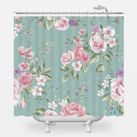 Flowers for Mom Shower Curtain