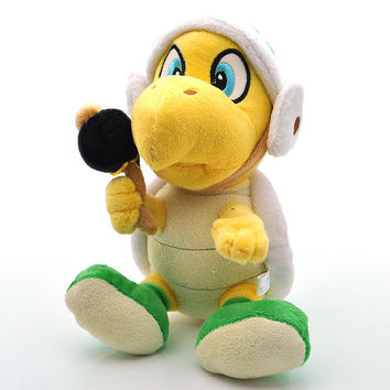 Nintendo Super Mario Plush 8'' 20cm Koopa Hammer Bro Plush Toys Soft Stuffed Animals Toy Doll Figures Toy for Children Xmas Gift