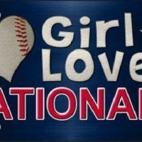 This Girl Loves Her Washington Nationals MLB Tag Sign License Plate