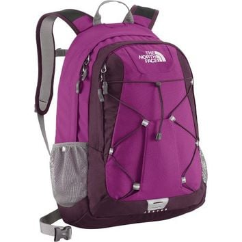 The North Face Jester Backpack Women's Dayglo Yellow/Coastline Blue
