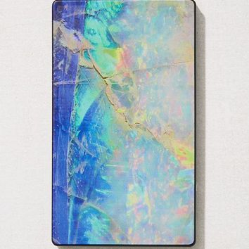 Velvet Caviar Blue Opal Portable Power Bank | Urban Outfitters