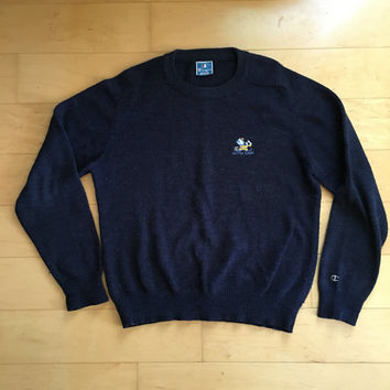 Vintage Notre Dame sweater made by champion