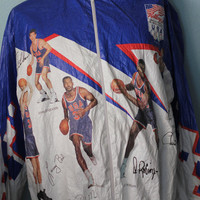 Vtg. USA Dream Team WindBreaker Jacket