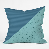 Mareike Boehmer Geometry Blocking 1 Throw Pillow