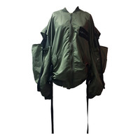SHOULDER DROP MA-1 -KHAKI- - M.Y.O.B NYC ONLINE STORE