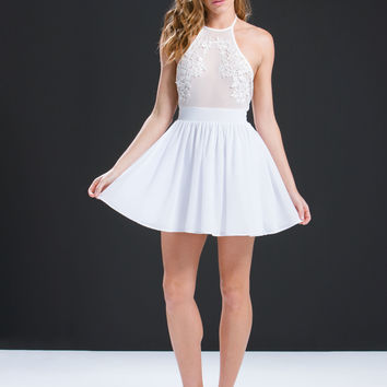 Center Stage Embroidered Dress