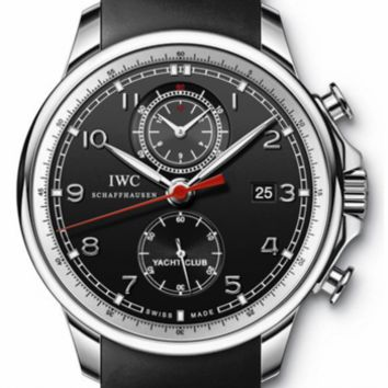 IWC - Portuguese Yacht Club Chronograph - Stainless Steel