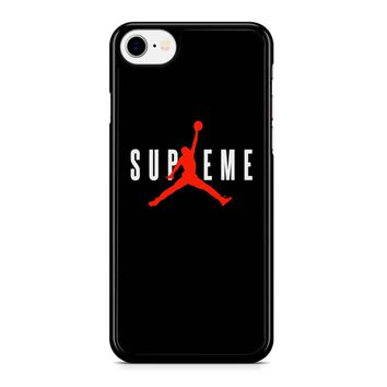 Air Supreme Black iPhone 8 Case