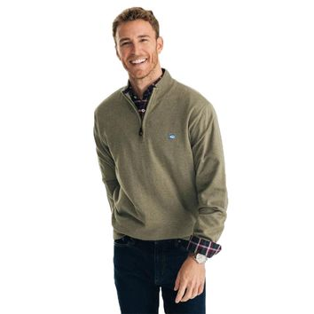 Pacific Quarter Zip Pullover Sweater by Southern Tide